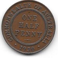1930 Australian Penny