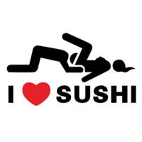 1X(I Love Sushi Sticker Car Window Van Parabrezza Posteriore Camion Paraurt D6O5