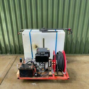 Yanmar Diesel Van Pack - Pressure Washer