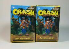 Crash Bandicoot Vinyl Mini Figure Sealed 2x Pack