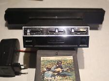Kassettenspieler Audio Spectra acht 8 Spur Stereo Japan+5 Kasseten +Kabel+Box