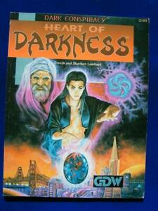 Heart Of Darkness - Dark Conspiracy RPG - GDW 2103 - VG