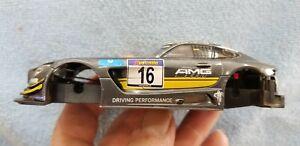 Carrera 1/32 slot car body W/chassis Mercedes AMG GT3 ref#27531