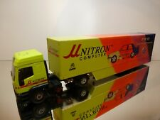 ELIGOR IVECO TRUCK + TRAILER - BMW NISSEN DTM '92 NITRON - 1:43 - GOOD CONDITION