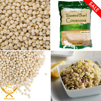 5 lb. Del Destino Israeli Toasted Pearl Couscous Bag Rounded Ground Semolina