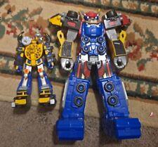 Lot of Power Rangers Megazord Action Figures Beast X Megazord