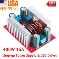 400W DC-DC Step Up Boost Buck Voltage Converter Power Supply Module CC-ADJ US
