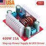 400W DC-DC Step Up Boost Buck Voltage Converter Power Supply Module CC-ADJ US