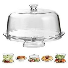Multifunctional Serving Cake Stand Party Display Cup with Dome Cover