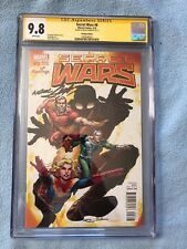 Secret Wars #8 Hastings Neal Adams Variant (Feb 2016, Marvel) CGC SS 9.8