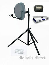 SKY ricevitore satellitare CARAVAN, BOX, treppiede, Capsula, FINDER
