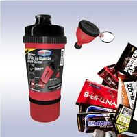 USP LABS 3-IN-1 SHAKER CUP (+ FUNNEL & FREE SAMPLE) jack modern protein bcaa+