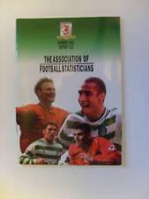 AFS Report 112, Football Statistics & History