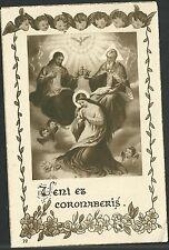 Estampa antigua del Espiritu Santo andachtsbild santino holy card santini