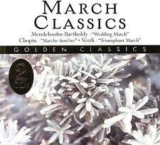 MARCH CLASSICS - MENDELSSOHN-BARTHOLDY - CHOPIN - VERDI - MUSIC CD - I265