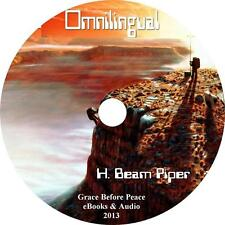 Omnilingual, H. Beam Piper Sci-Fi Mars Expedition Audiobook on 1 MP3 CD
