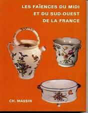 FAIENCES DU MIDI ET SUD-OUEST DE LA FRANCE 1970
