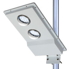 1100LM LED Solar Street Light Outdoor Pole Mount Post Dusk to Dawn Light Sensor