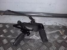 KAWASAKI GPZ 500 KH1 1996 - 2000 PARTS - FOOTPEGS WITH FOOT PEDAL & BRAKE SWITCH