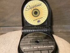 HARD CD CASE WITH 7 CDS NSYNC BRITNEY NEW KIDS SUPERTONES 702 ROAD TRIP MORE