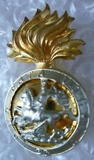 Badge- VINTAGE Northumberland Fusiliers Cap Badge (Bi-Metal, Genuine*)