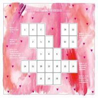 Legeschablone Der Liebesblick für Lenormand Tarot Orakelkarten aller Art