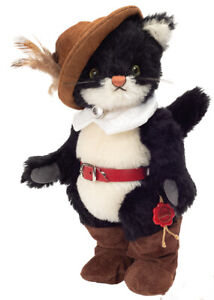 Puss in Boots by Teddy Hermann - limited edition cat - 25cm - 11854