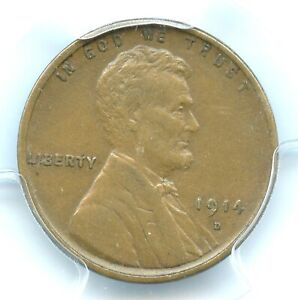 1914-D Lincoln Cent, PCGS XF40, Key Date!