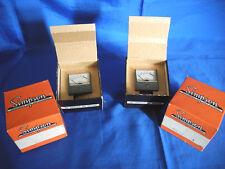 Simpson Vu Meter Pair - Nos in Box with Sealed Mounting Screws - Model 7258