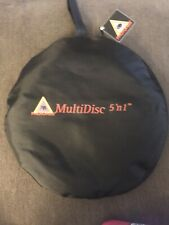 """32"""" Multi Disc Circular Photography Reflector 5-in-1 Collapsible"""