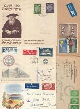 ISRAEL  collection of old Postmarks Cancels etc FDCs x 31 different covers