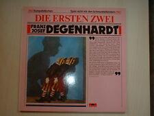 Franz Josef Degenhardt – Die Ersten Zwei  Polydor – 810 921-1   Vinyl  DLP