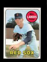 1969 TOPPS #264 BILL LANDIS NM RED SOX  *XR23802