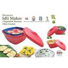 Microondas Cocina Arroz Pastel Microondas Vapor Idli Bandeja-fácil y rápido