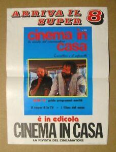 VECCHIA LOCANDINA POSTER DA EDICOLA : 1977 CINEMA BUD SPENCER & TERENCE HILL