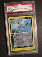 PSA-9 Pokemon ABSOL Card EX TEAM MAGMA VS AQUA Set 96/95 Secret Rare Holo MINT