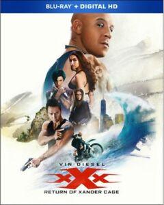xXx: Return of Xander Cage (Blu-ray/DVD, 2017, No Digital Copy)