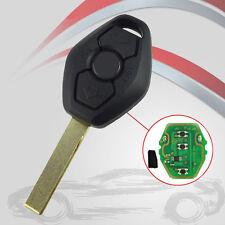 Fit BMW E46 E38 E83 315Mhz 3 Buttons Uncut Transponder Remote Key Chip Inside ga