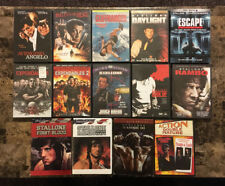 FREE SHIPPING! Lot Collection of 15 DVD Movies starring Sylvester Stallone