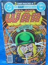 DC Comics All Out War #6 August 1980 3 Combat Magazines In 1 Viking Commando