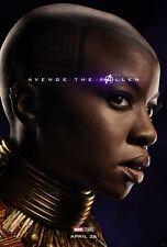 Avengers Endspiel Film Poster - 11 X 17 - Okoye Poster, Danai Gurira