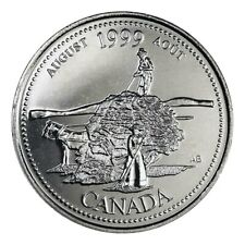 Canada quarter 25 cents coin, History Through the Second Millennium, 1999