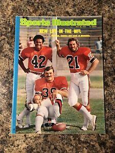 Sports Illustrated July 28 1975 - New Life the WFL Warfield Csonka Kiick NM/Mint