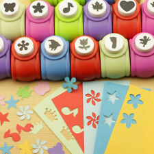 Fun Kids Craft Scrapbooking Mini Cutter Cards Making Paper Shaper Hole Punch DIY