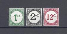 BRITISH GUIANA 1940-55 SG D1, D2, D4 MINT Cat £65