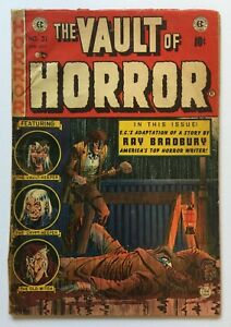 Vault of Horror 31 * low grade complete copy  * 1.8ish * Pre Code Classic * EC