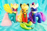 "SUPERHERO - MY LITTLE PONY - 6"" Power Ponies - Lot of 3 Loose Target Exclusive"