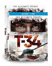 T-34 (DVD or Blu-ray Combo) (WGU03092D, WGU03094B) Well Go USA, New, War Action