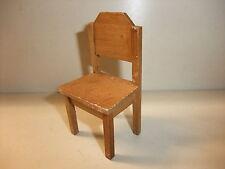 a Puppenstube Kaufmannsladen Möbel Bauernküche Stuhl Küchenstuhl Bauernstuhl alt
