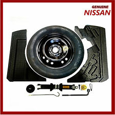 Genuine Nissan QASHQAI J11 & J11b Space Saver Spare Wheel Kit Inc Tyre. New.